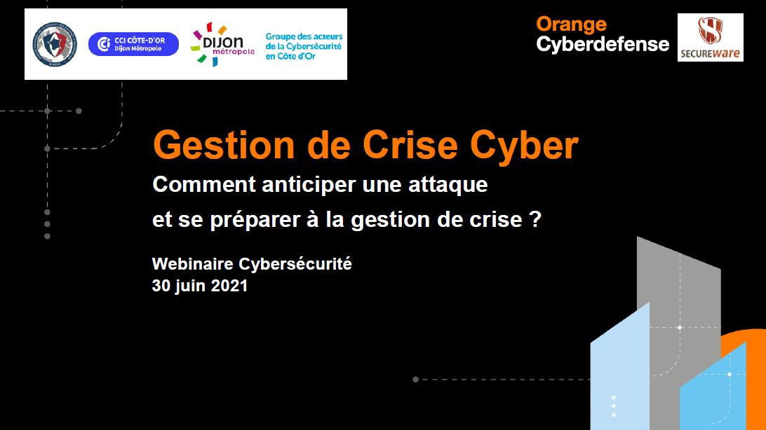 Gestion de Crise Cyber