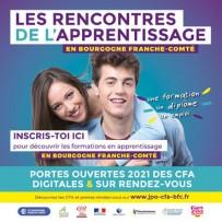 Portes ouvertes des CFA 2021 Digitales et sur Rendez-Vous