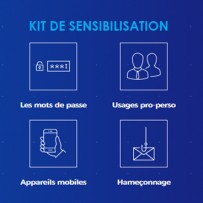 Cybermalveillance.gouv.fr : publication du premier kit de sensibilisation !