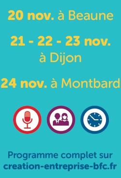 semaine régionale de la création-reprise du 26  au 30 novembre 2017